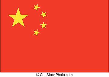 Red Flag Of People Republic Of China - Flag Of People ...