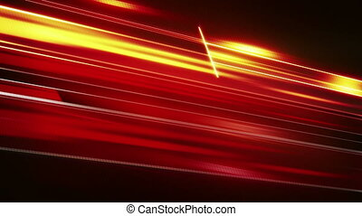 red flashing stripes loopable techno background
