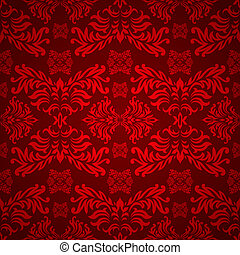 red floral gothic