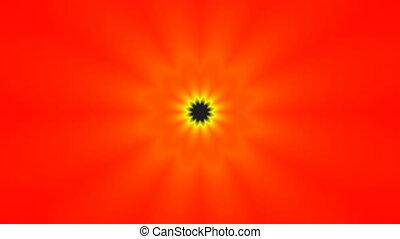 Red flower (pattern)