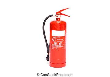 Red foam extinguisher