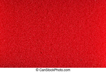 red foam rubber texture
