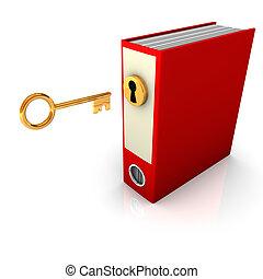 Red Folder Golden Key