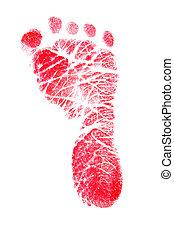 Red Footprint