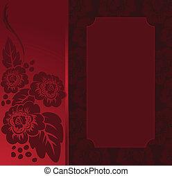 red frame