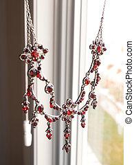 Red Garnet Necklace