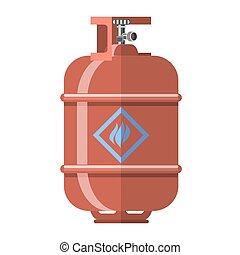 Red Gas Tank Icon