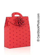 Red Gift Bag with Bow