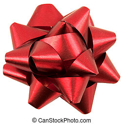 Red gift decor