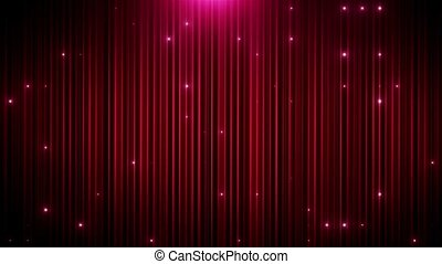 Red glitter led animated VJ background