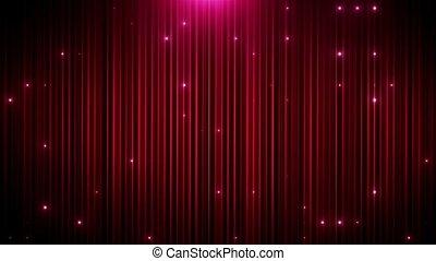Red glitter led animated VJ background