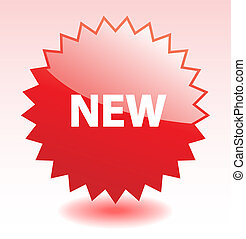 Red glossy vector star element for marketing or advertisment. More in my gallery.