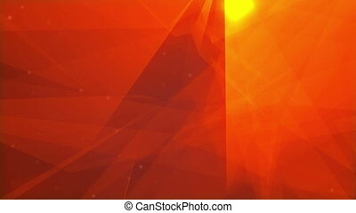Red gold abstract light background