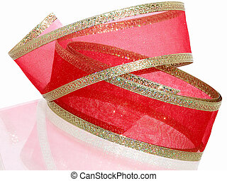 Red & Gold Ribbon