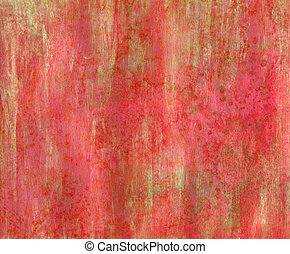 Red Gold Texture