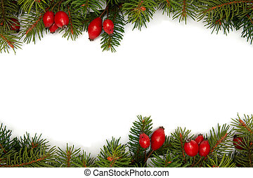 Red-green christmas arrag