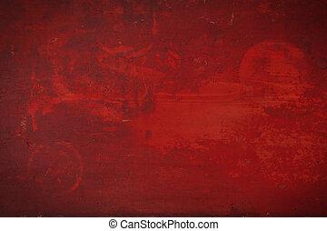 red grunge background.