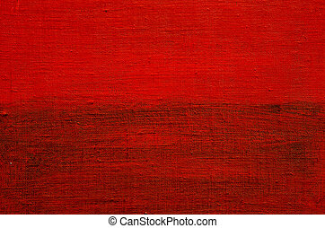 red grunge painted canvas background