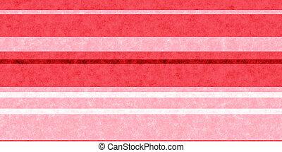 Red Grunge Stripe Paper Texture. Retro Vintage Scrapbook Lines Background.