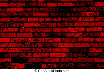 red grunge wall background or texture