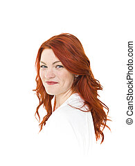 Red Haired woman