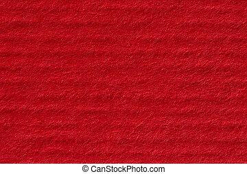 Red handmade paper texture.