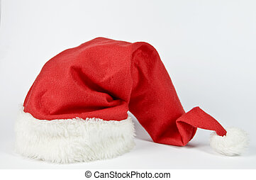 Red hat of Santa Claus