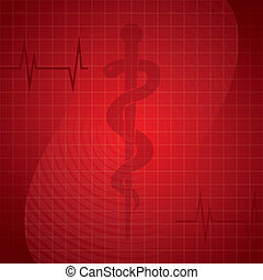Health background
