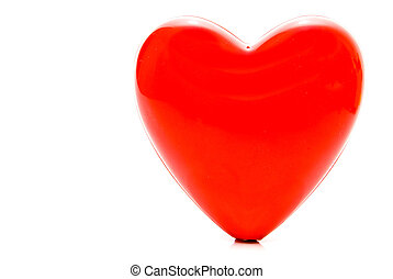 Red Heart - A big red heart ready for a beating.