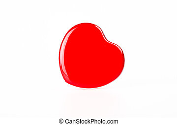 Red Heart box lean to right hand side