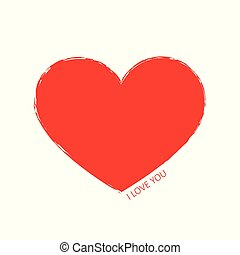 red heart icon pictogram