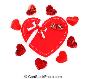 Red heart romantic gift