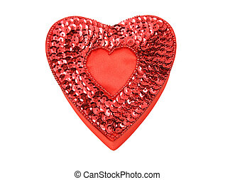 Red Heart-Shaped Box with Path