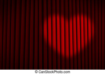 Red Heart Spotlight