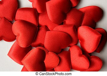 Red hearts - Lots of red hearts