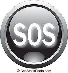 red help and sos button
