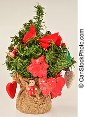Red Holiday decoration