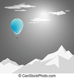 red-hot-air-balloon