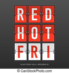 Red Hot Black Friday Sale