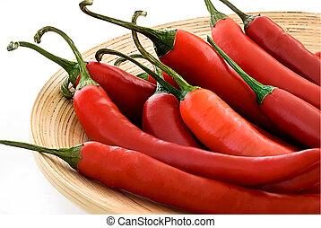 chili pepper - red hot chili pepper
