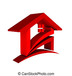 Red House Check Logo