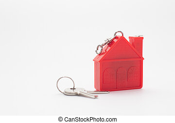 Red House model with keys