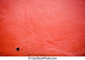 Red Hull: Grunge Background