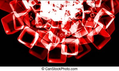 red ice block,crystal jewelry