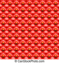 red glossy plastic texture with abstracted shapes