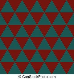 Red Indigo Blue Green Triangle Background. Vector Illustration.