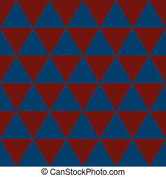 Red Indigo Blue Triangle Background. Vector Illustration.