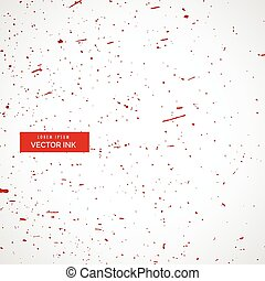 red ink or blood splatter splashes texture background