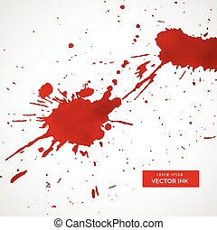 red ink splatter texture stain background