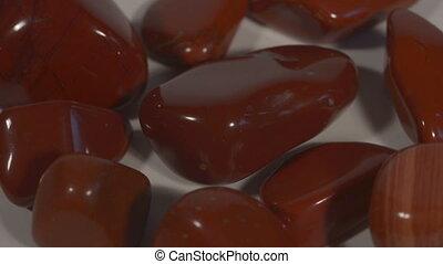 Red Jasper - turning red jasper - half-precious stones You...